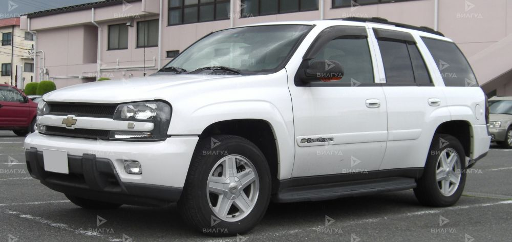 Диагностика ошибок сканером Chevrolet Trailblazer в Вологде